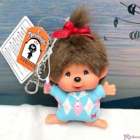 Monchhichi SS Big Head Mascot Keychain Golf Club Girl 高爾夫球 吊飾 239610