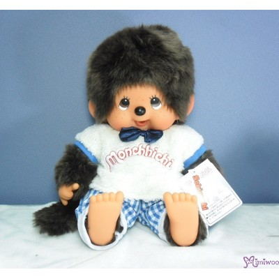Monchhichi L Size 軟頭 Soft Head Moco Moco Tee MCC Sitting Boy 241392