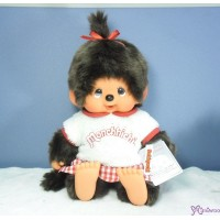 Monchhichi L Size 軟頭 Soft Head Moco Moco Tee MCC Sitting Girl 241408