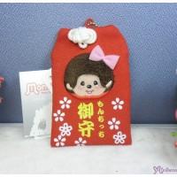 Monchhichi Mascot Card Pass Case Girl 御守 咭袋 吊飾 241580