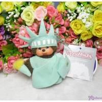Monchhichi USA Limited MCC Mascot Statue of Liberty 吊飾 鑰匙扣 自由女神 241890