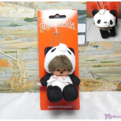 Monchhichi 10cm Plush Mascot Keychain - Sitting Panda 熊猫 吊飾 242600