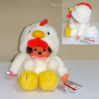 Monchhichi S Size Chicken 17cm Sitting MCC 2005 Year Of Rooster 243000 ~ LAST ONE ~