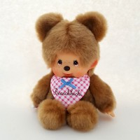 Monchhichi S Size Plush MCC Brown Bear 啤啤熊 243501