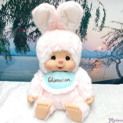 Monchhichi Friend Chimutan Sitting L Size Plush Bunny 坐姿 兔仔 250837
