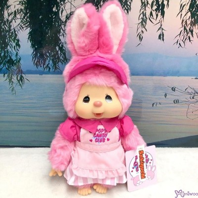 Monchhichi POP'n CANDY CLUB M Size Bunny Chimutan 250844 ~ PRE-ORDER ~