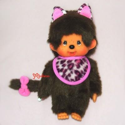 Sekiguchi Monchhichi Cat Ear S Size MCC Plush Pink 貓耳 ~ RARE ~~ 254630