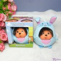 Monchhichi 9cm Plush Mini Animal Ball - Blue Bunny 藍兔 254972