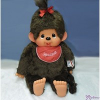 Monchhichi 2L Stand Version 80cm Red Bib Girl 255610