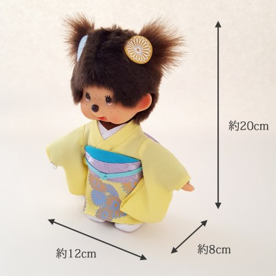 Monchhichi 20cm MCC Kimono Chrysanthemum Girl 菊花 和服 256365