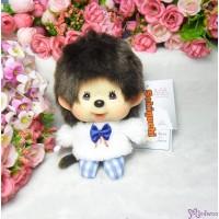 Monchhichi Big Head Mascot Keychain Moco Moco Tee Boy 大頭 公仔 258864