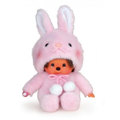 Monchhichi S Size Plush MCC Animal Sitting Bunny 259050