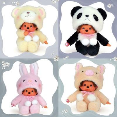 Monchhichi S Size Plush MCC Animal Sitting Bear 259070