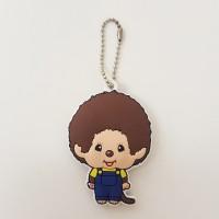 Monchhichi Soft Plastic Mascot Keychain 軟膠 鑰匙扣 - Boy 260430