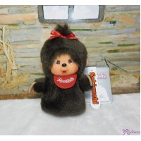 Monchhichi Finger Puppet Mascot Keychain Girl 手指 手偶 吊飾 260867