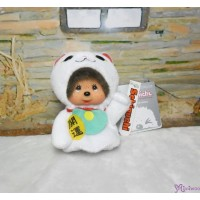 Monchhichi Finger Puppet Mascot Keychain Lucky Cat 手指 手偶 吊飾 招財貓 260874