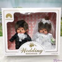 Monchhichi Wedding 西式 結婚 公仔 禮盒  260900