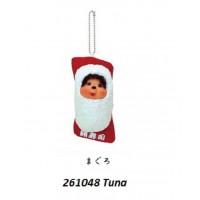 Monchhichi Mascot Japan Sushi Keychain Tuna 呑拿魚 壽司  261048