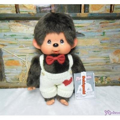 Monchhichi Heart Knit 26cm M Size Boy 心心 冷衫 公仔 261284