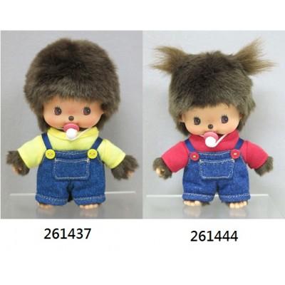 Monchhichi Bebichhichi 14cm Overall Girl 工人褲 女孩 261444