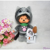 Capcom Monster Hunter 魔物獵人x Monchhichi S Size Cat Grey 261468