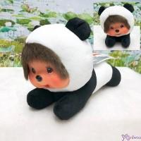 Monchhichi 16.5cm Lying Panda 爬行 熊貓 262144