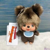 Big Head Monchhichi Friend SS Size Plush + Ball Chain Mascot  Bear 262359