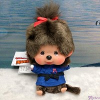 Monchhichi 13cm Bean Bag Sitting Sport Judo Girl 262533