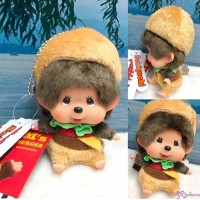 Monchhichi 2020 Burger 漢堡包 SS Size Boy Keychain 262632