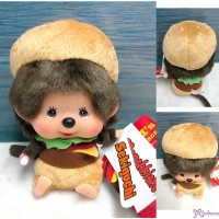 Monchhichi 2020 Burger 漢堡包 Big Head Bean Bag Sitting Boy 262649
