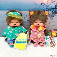 Monchhichi Beach Side Story Surfer Boy & Muumuu Girl 263000+263100