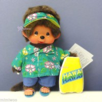 Monchhichi S Size MCC Beach Side Story Surfer Boy  沙灘 263000
