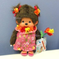 Monchhichi S Size Plush MCC Beach Side Story Muumuu Girl 沙灘 263100