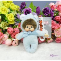 Monchhichi 10cm Birthday Birth Stone Keychain March 生日寶石 三月 2673