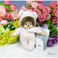 Monchhichi 10cm Birthday Birth Stone Keychain April 生日寶石 四月 2674