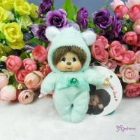 Monchhichi 10cm Birthday Birth Stone Keychain May 生日寶石 五月 2675