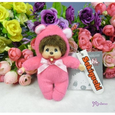 Monchhichi 10cm Birthday Birth Stone Keychain July 生日寶石 七月 2677