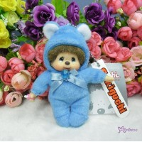 Monchhichi 10cm Birthday Birth Stone Keychain September 生日寶石 九月 2679