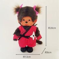 Monchhichi 20cm Plush MCC Ninja Girl 日本 忍者 女 271672
