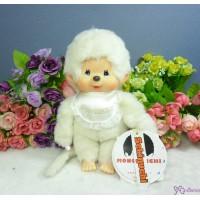Monchhichi S Size Plush 30th Anniversary MCC Tone White 274400