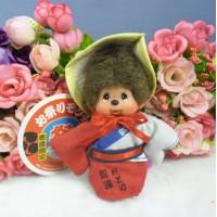 Monchhichi Mascot Boy MCC 德島限定 節祭 女仔 鑰匙扣 2757