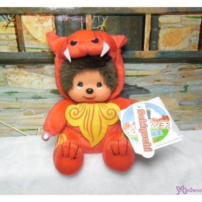 Monchhichi Okinawa Limited Plush Shisa Red 沖繩 限定 守護神 獅子 282200