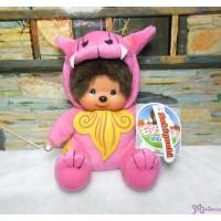 Monchhichi Okinawa Limited Plush Shisa Pink 沖繩 限定 守護神 獅子 282220