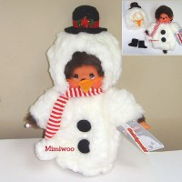 Monchhichi S Size Christmas MCC Snowman 毛毛衫 雪人 2882