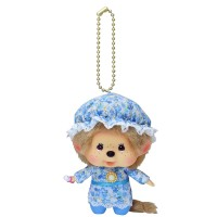 Monchhichi Big Head Mascot Charm Baby Nightgown 大頭 睡衣 292570