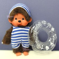 Monchhichi Beach Side Story Swim Suits Boy with Floaty 泳衣 水泡 裝 295803