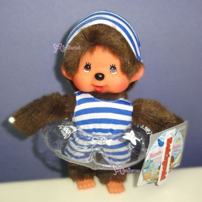 Monchhichi Beach Side Story Swim Suits Boy & Girl with Floaty 泳衣 水泡 裝 295803+295902