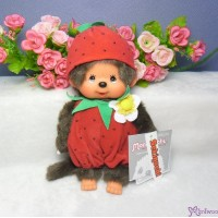 Monchhichi S Size 20cm Plush Summer Fruit Strawberry 夏日水果 士多啤梨 2974