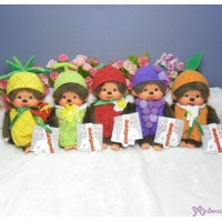 Monchhichi S Size Summer Fruit Pineapple Strawberry Melon Grape Orange (5pcs)