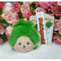Monchhichi Japan Expo Limited Mascot LCD Monitor Screen MCC Plush Cleaner Green 305207